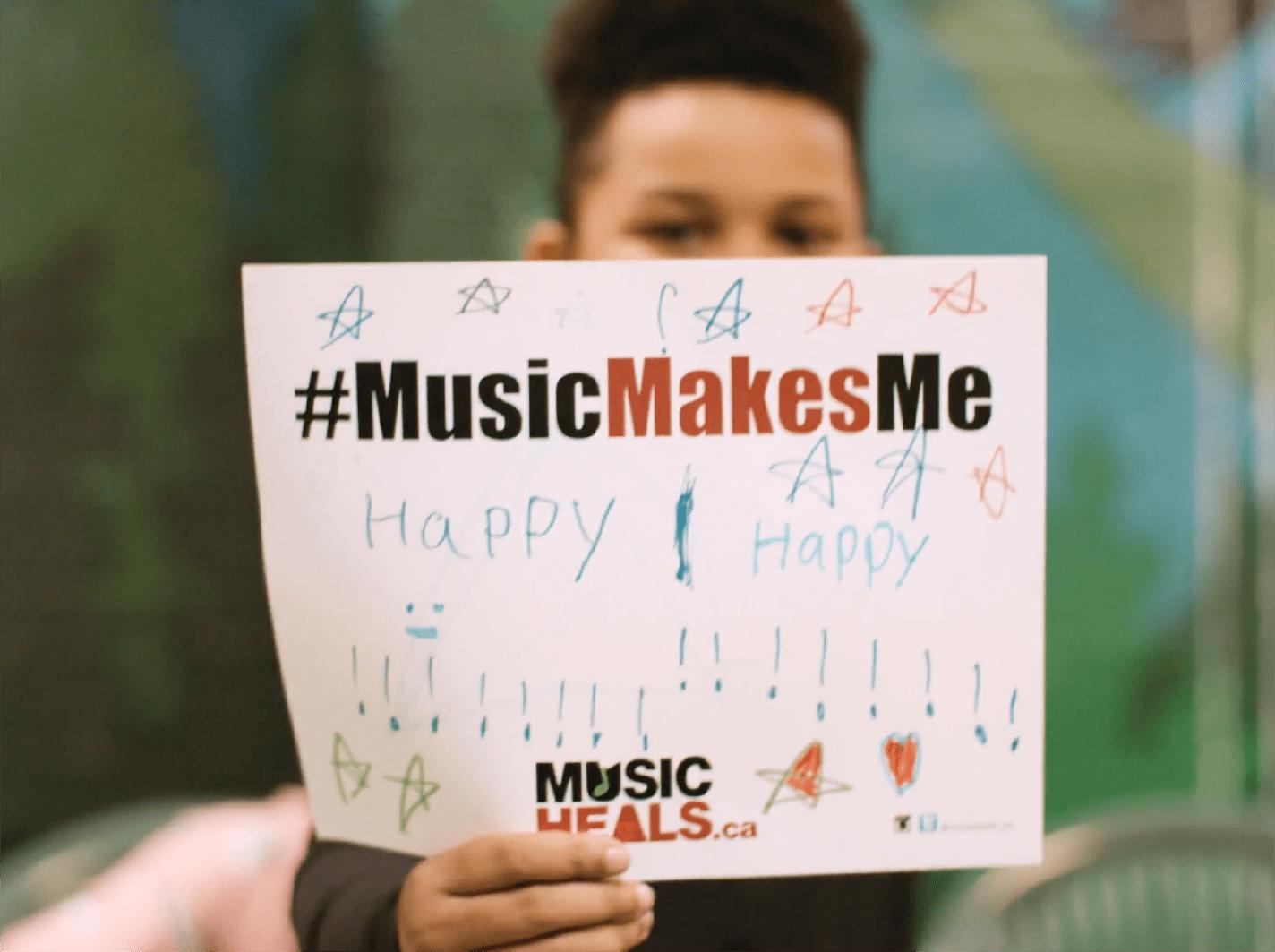 Music Heals Banner