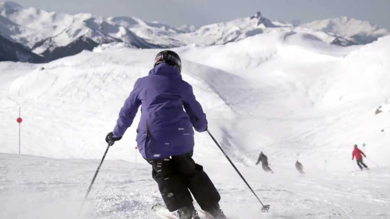 Blake Jorgenson Whistler Ski Banner