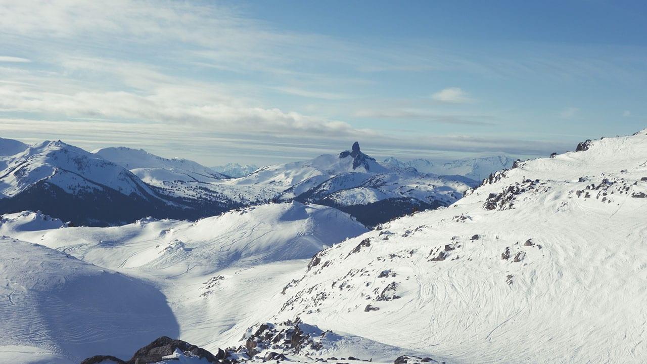 Winter Mountains British Columbia