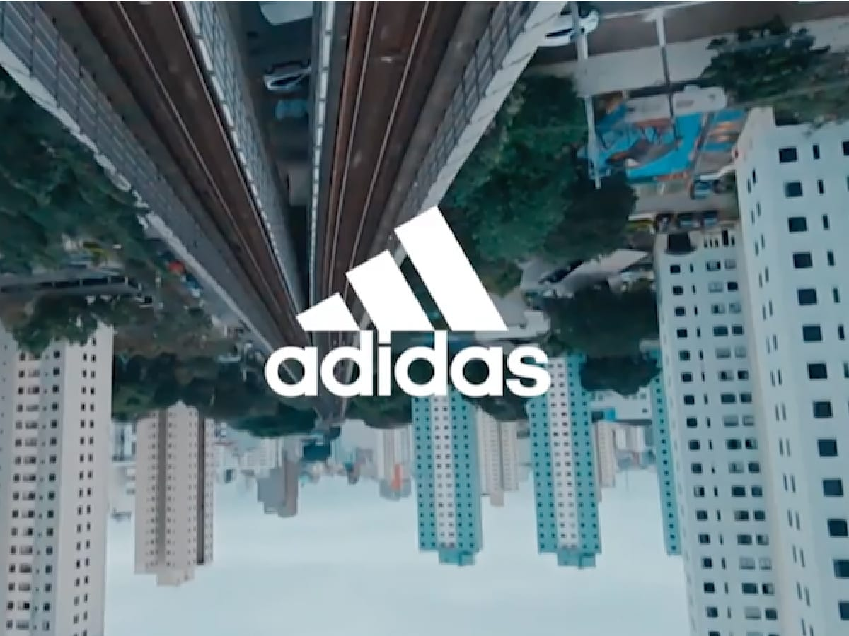 Adidas Commercial Banner